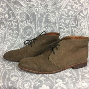 Rachel Comey Suede Lace Up Oxford Menswear Boots